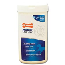 Advanced Oral Care Dog Dental Wipes - 25 Count