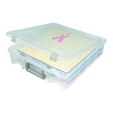 Super Satchel One Compartment Box in Translucent