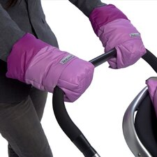 Water-Repellant Hand Muffs for Stroller Handles