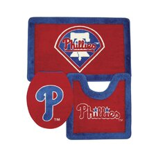 MLB 3 Piece Bath Rugs