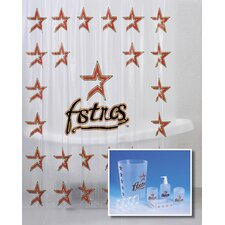 <strong>Championship Home Accessories</strong> MLB 7-Piece Shower Curtain Set