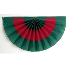 Pleated Fan Flag