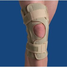Dual Pivot Hinged Knee Wrap in Beige