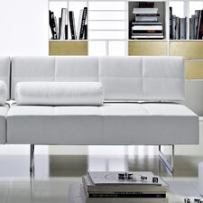 Clark Leather 2 Seater Sofa