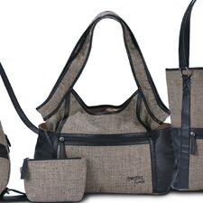 Gabardine Hobo Bag