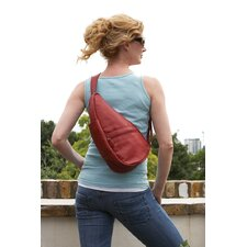 <strong>AmeriBag</strong> Classic Leather Healthy Back Bag® Extra Small Sling