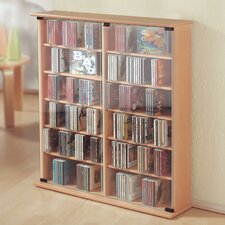 Roma Double CD/DVD Storage Cabinet