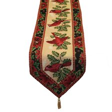 Seasonal Cardinal Design Table Runner
