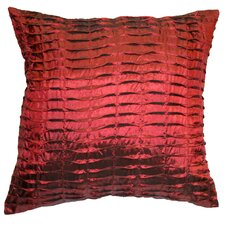 <strong>Violet Linen</strong> Silky Pleated Throw Pillow