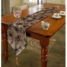 Venetian Vintage Embroidered Floral Design Table Runner
