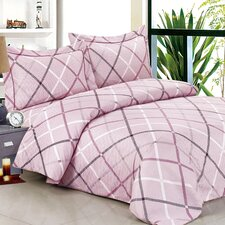 French Triangle Soft Luxurious 6 Piece Duvet Set