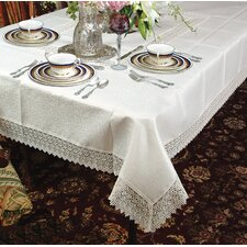 <strong>Violet Linen</strong> Treasure Lace Tablecloth