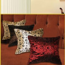 Silky Bombay Design Cushion Cover