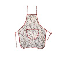 European Retro Cherry Vintage Apron