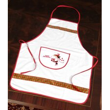 Christmas Snow Man Design Apron