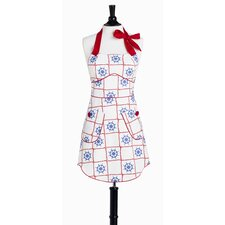 Out To Sea Bib Sabrina Apron