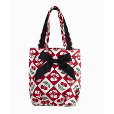 Diamond Cherries Lunch Tote