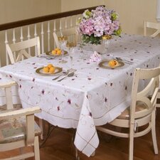 <strong>Violet Linen</strong> Ascott Embroidered Design Tablecloth