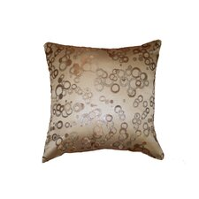 Chateau Jacquard Circles Throw Pillow