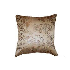 Chateau Jacquard Circles Throw Pillow