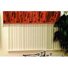 """Silky Floral Design 60"""" Curtain Valance"""