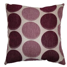 <strong>Violet Linen</strong> Deluxe Chenille Jacquard Circle's Decorative Cushion Cover