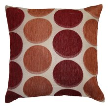 Deluxe Chenille Jacquard Circle's Decorative Cushion Cover