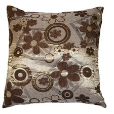 Victoria Chenille Jacquard Daisy Decorative Cushion Cover