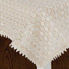 Botany Vintage Crochet Lace Design Tablecloth