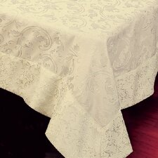 <strong>Violet Linen</strong> Princess Damask Vintage Design Tablecloth