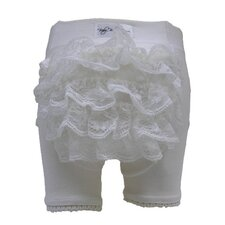 <strong>Baby Bella Maya</strong> Fancy Frills in White