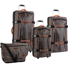 Twin Mountain 4 Piece Luggage Set