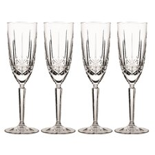 Sparkle Flute Glass (Set of 4)