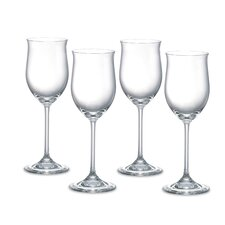Vintage Young White Wine Glasses (Set of 4)