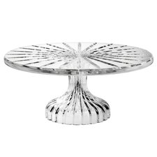 <strong>Marquis by Waterford</strong> Bezel Footed Cake Plate