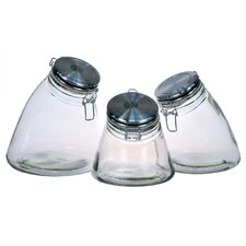Slope 3 Piece Jar Set