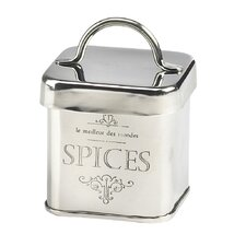 Royal Stainless Steel Spice Jar (Set of 6)