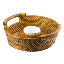 St Lucia Chip N Dip Basket in Remailer