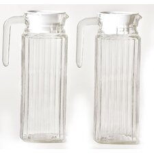 Two Piece Refrigerator Pitcher Set