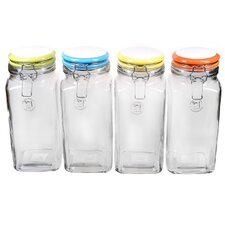 Rainbow Quadra Jar (Set of 4)
