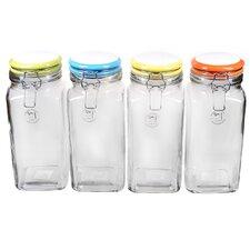 Rainbow Quadra Jar (Set of 4)