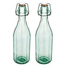 Large Faceted Bottle (Set of 2)