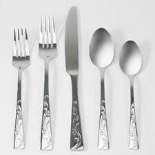 <strong>Anchor Hocking</strong> Alyssia 20 Piece Flatware Set