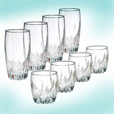 8 Piece Fifth Avenue King Glassware Set