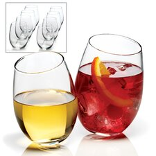 <strong>Anchor Hocking</strong> Stemless Wine Glasses (Set of 8)