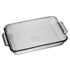 3 Qt. Oven Basics Crystal Baking Dish (Set of 3)