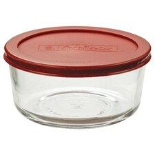4-Cup Round Kitchen Storage Container