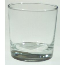 9 oz. Heavybase Crystal Rocks Old Fashioned Glass