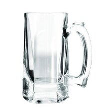 Beer Tankard in Clear (Set of 12)