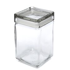 <strong>Anchor Hocking</strong> 1.5-qt Stackable Glass Jar with Glass Lid